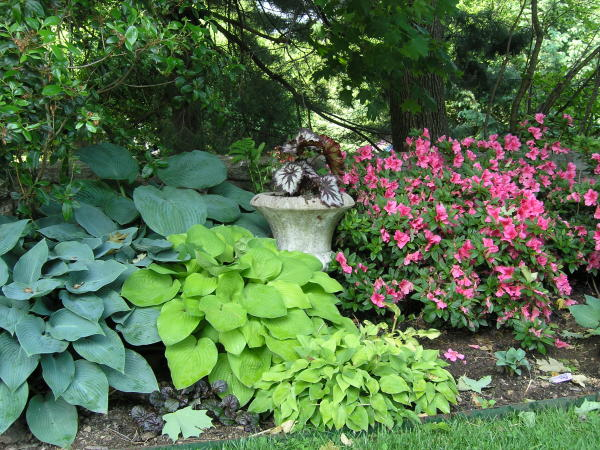100 natural hardwood mulch shade gardens Beautiful and shady home garden design ideas