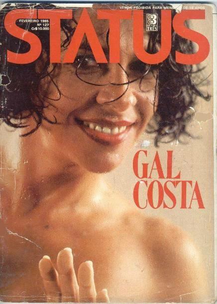 cantora Gal Costa nua