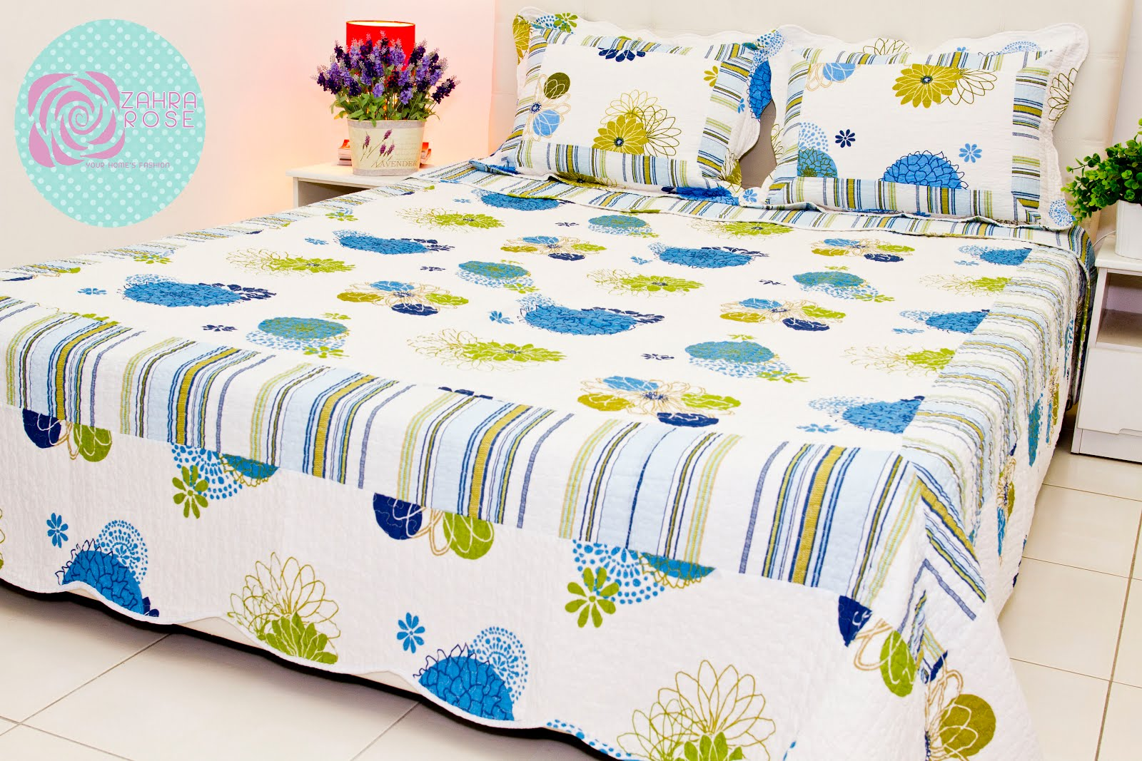 Patchwork bed sheets patterns - Zr 002