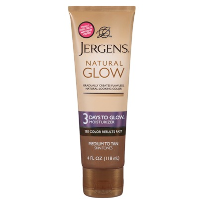 Jergens Natural Glow 3 Days to Glow Moisturizer: A quick review