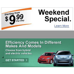 Enterprise Rent-A-Car Offering $9.99 Per Day Weekend Special