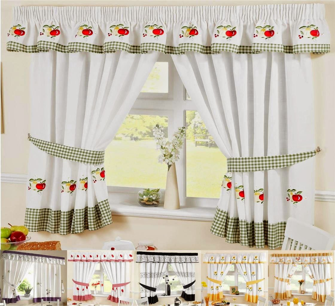Curtain Ideas: Contemporary Kitchen Curtain Ideas