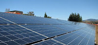 Butte College's solar panel installation produce power more than annually needs