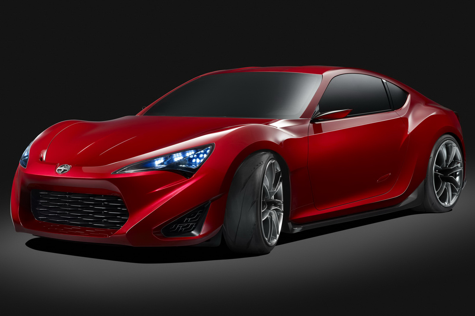 car news ok first official images of scion fr s ft 86 concept. Black Bedroom Furniture Sets. Home Design Ideas