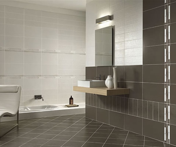 Perfect New Wall Tile Design Trends For Bathroom Decorating