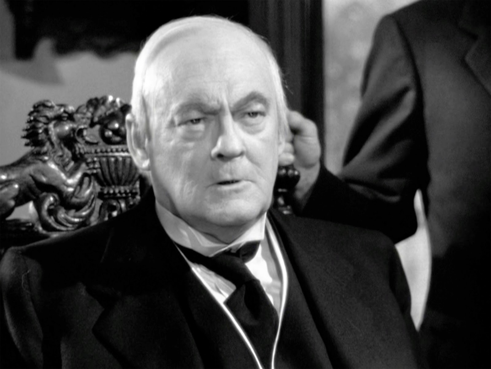 Mr. Potter (Lionel Barrymore) it's a Wonderful Life