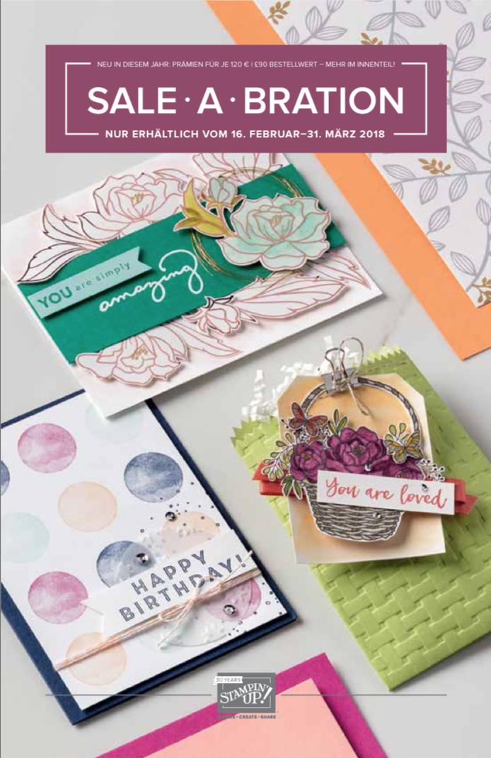 zusätzliche Sale-A-Bration Broschüre ab Februar 2018