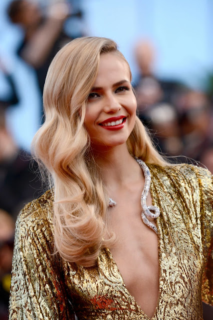 Natasha Poly at 2015 Cannes Film Festival