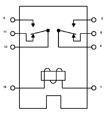 24vdc 5 pole relay wiring diagram electronica general  electronica general