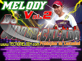 Cd de Melody Dj Junior Calado