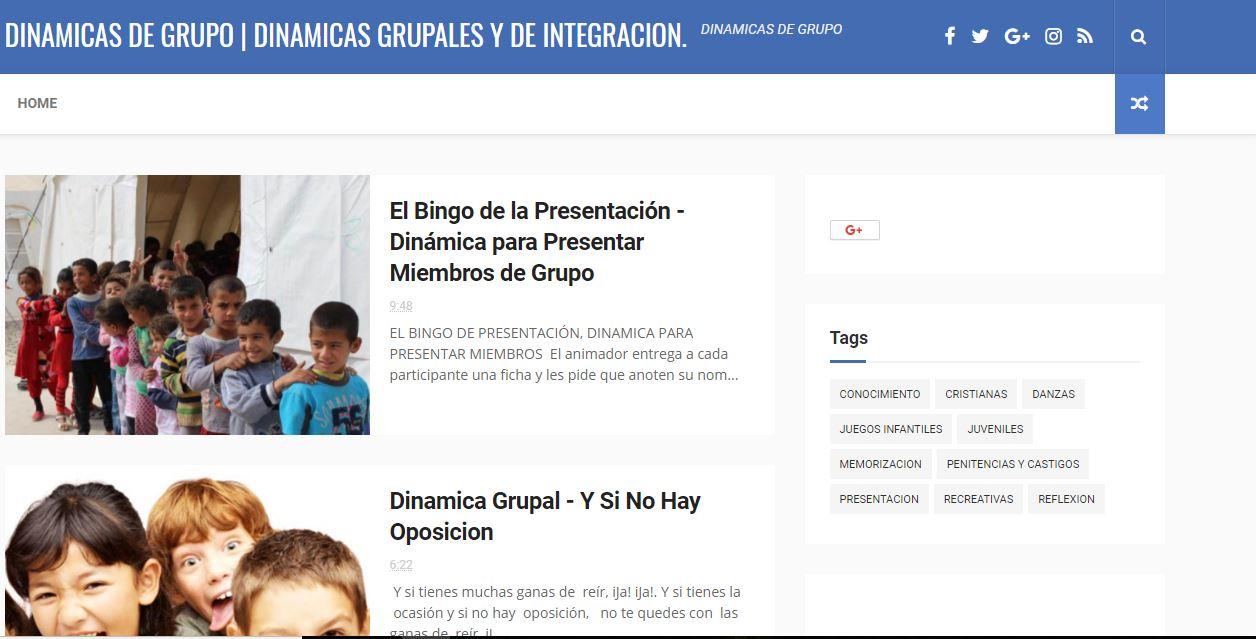 DINAMICAS GRUPALES  CLIC EN IMAGEN