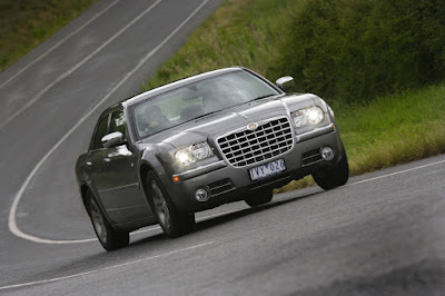 Sweeping roads, where the 300C feels at home