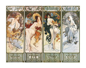 Mucha- Les Saisons