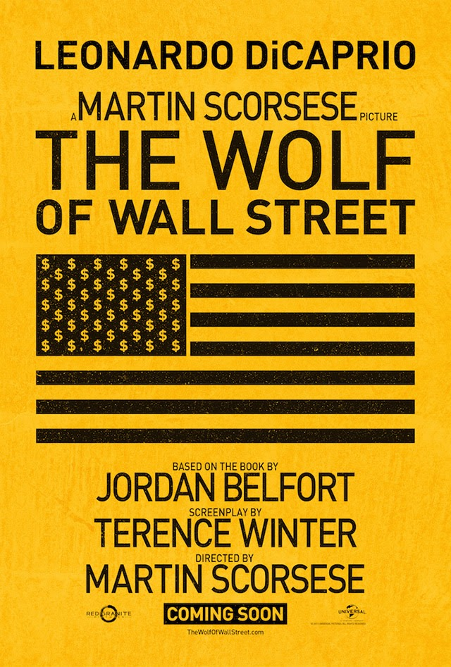 the wolf of wall street poster teaser trailer