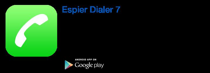 https://play.google.com/store/apps/details?id=org.espier.dialer7