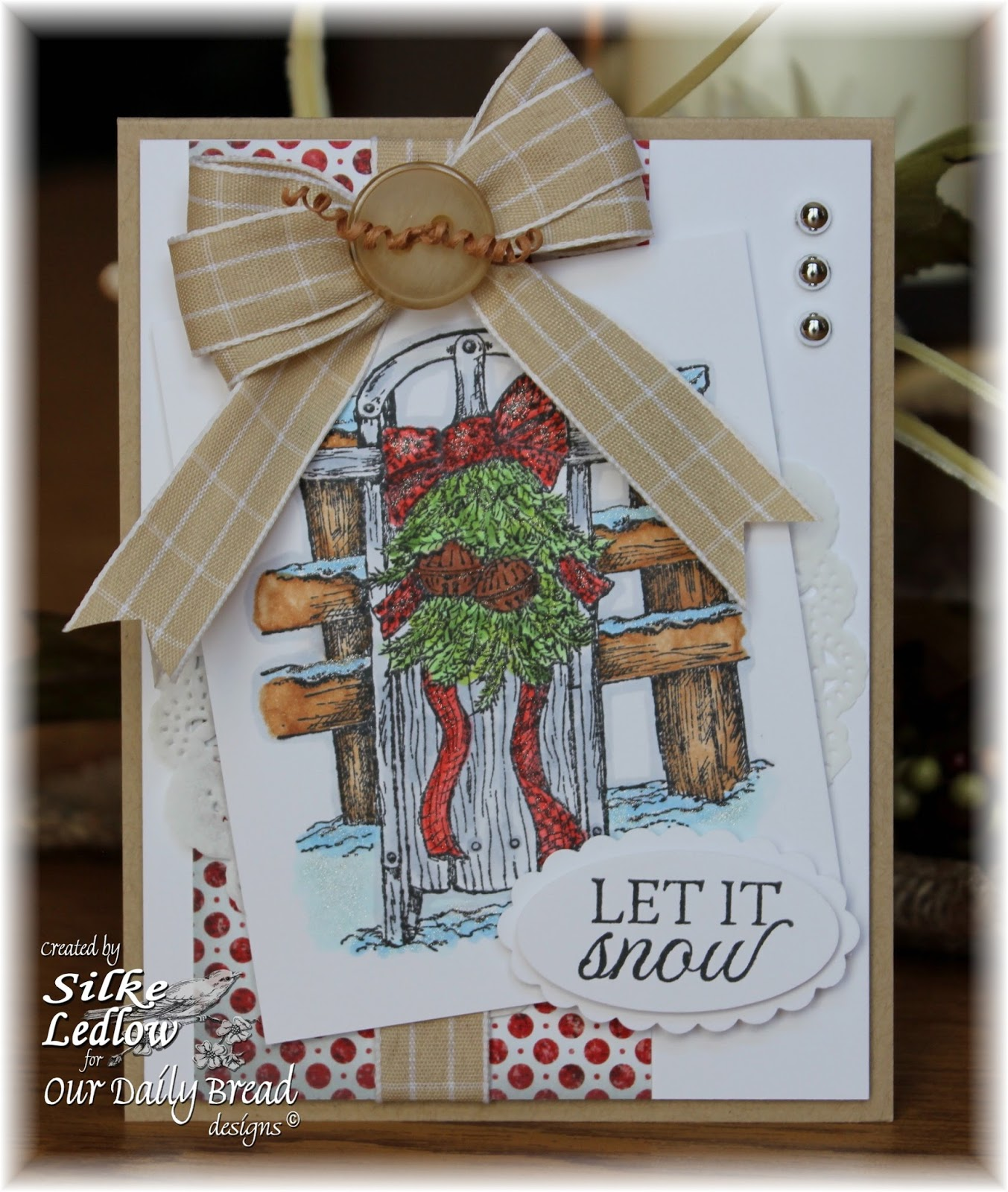 Stamps - Our Daily Bread Designs Let It Snow, ODBD Patriotic Paper Collection