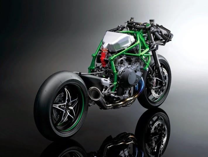 Kawasaki Nnja H2R rangka