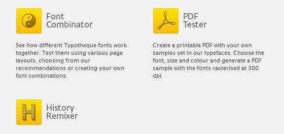 OpentType Font Tester
