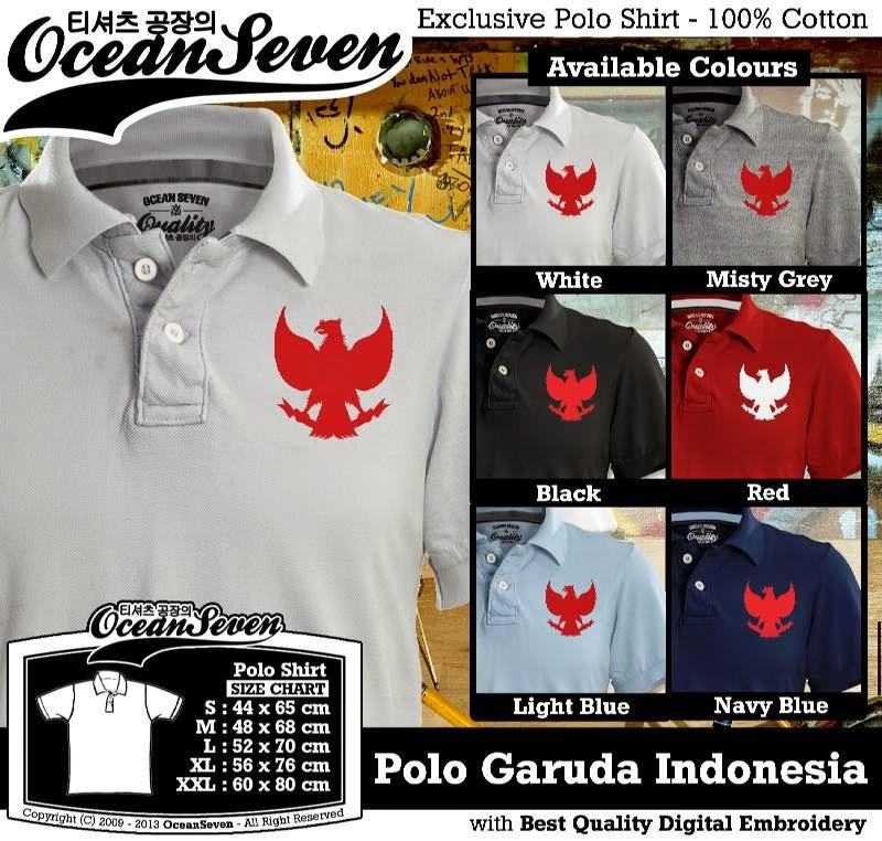 Kaos Polo Garuda Indonesia
