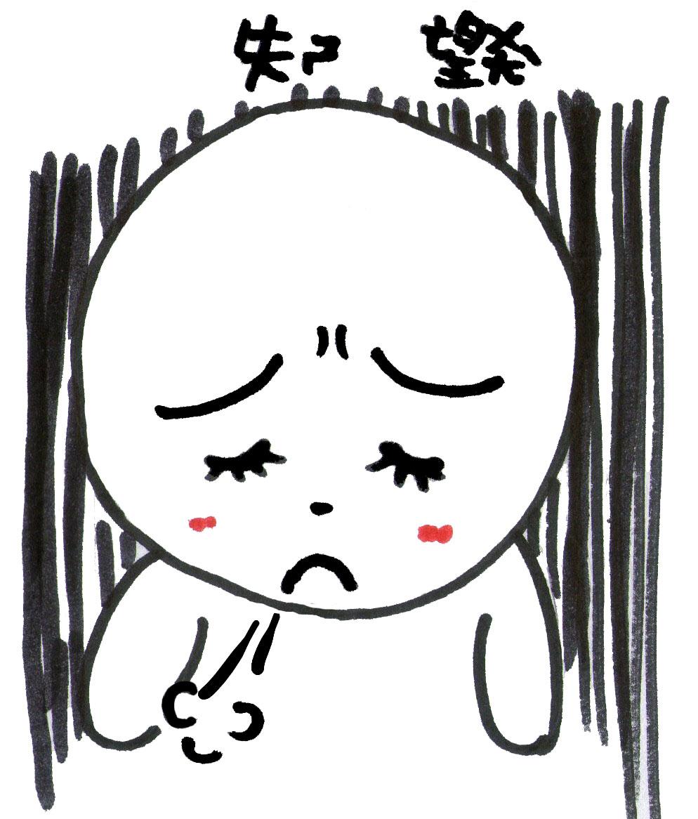 赤豬圈: 表情特徵-- 失望