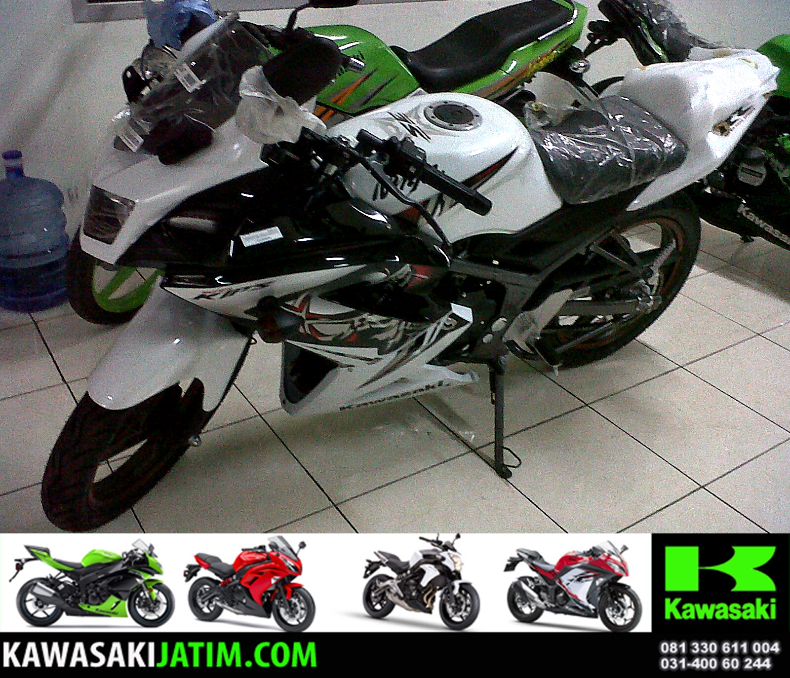 Kawasaki KRR 150RR & SE New Colour and Stripping