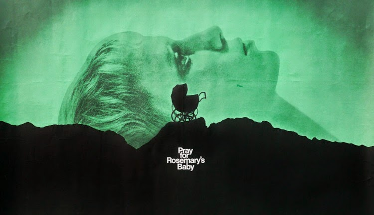 A Vintage Nerd, Vintage Blog, Classic Film Blog, Classic Suspense Movies, Old Hollywood Blog, Rosemary's Baby
