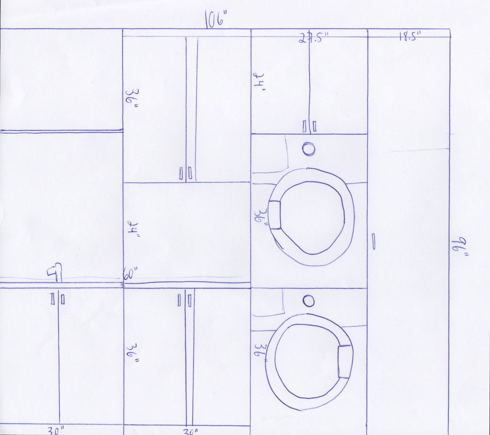 Tanner projects laundry room planning Laundry room blueprints
