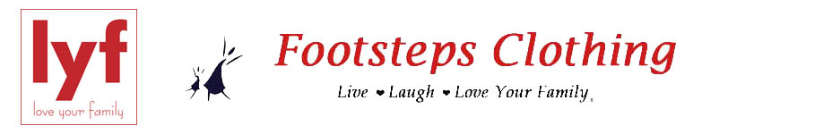 FootstepsClothing.com - Love Your Family Matching Family Pajamas