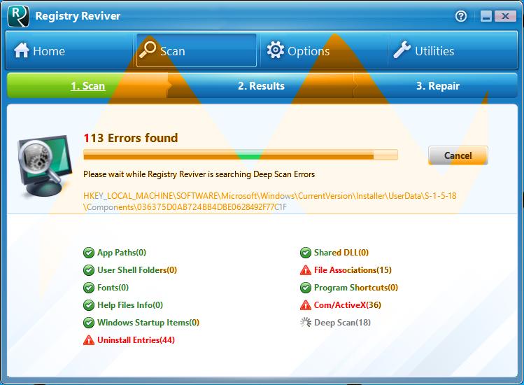 Registry Reviver 4.0 Full Crack