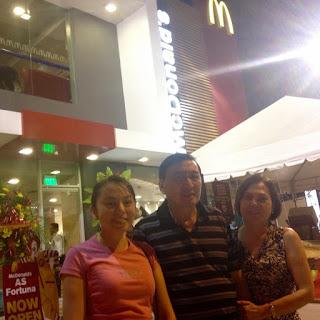 McDonald's A.S. Fortuna corner Hernan Cortes Streets, Mandaue City, Cebu, Stephanie Miel-Olano