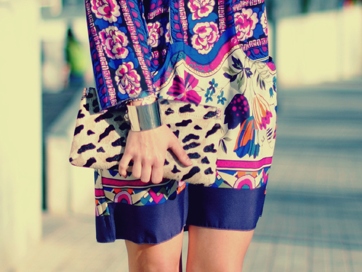 floral print, tribal print and animal print by fashion blogger Mónica Sors
