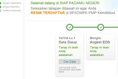 cek data verval level 1