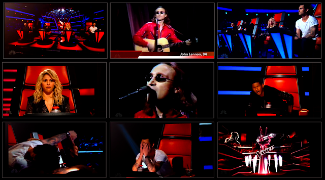 "John Lennon Auditions On NBC's ""The Voice"""