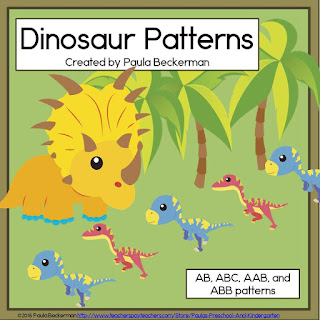 https://www.teacherspayteachers.com/Product/Dinosaur-Patterns-1964837