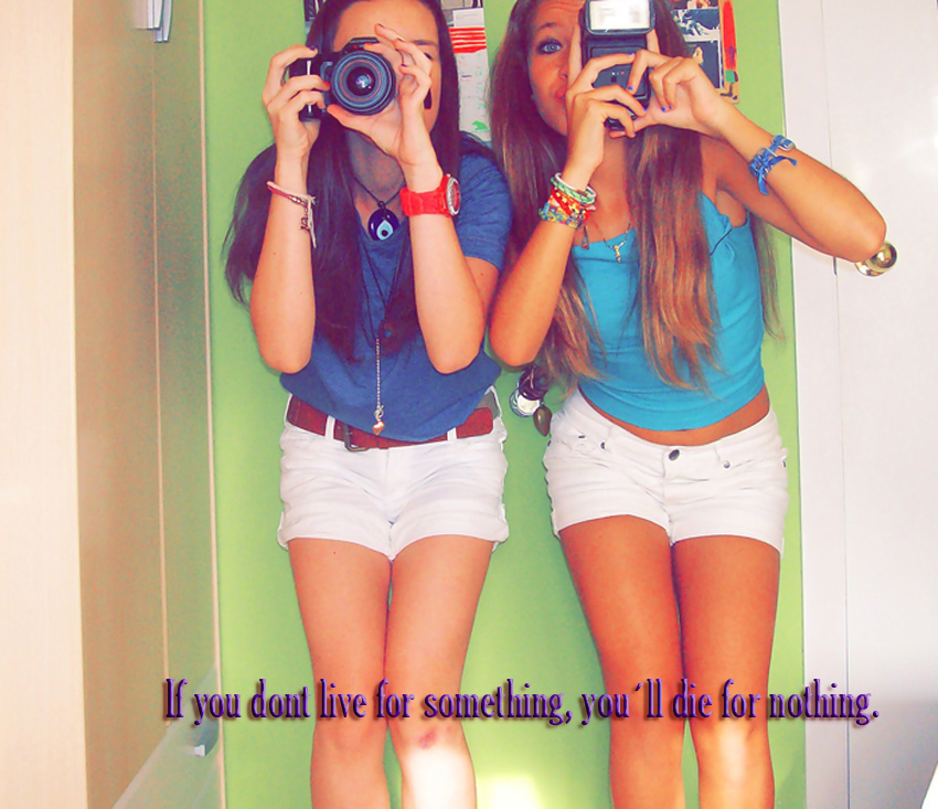 If you dont live 4 something, you´ll die 4 nothing