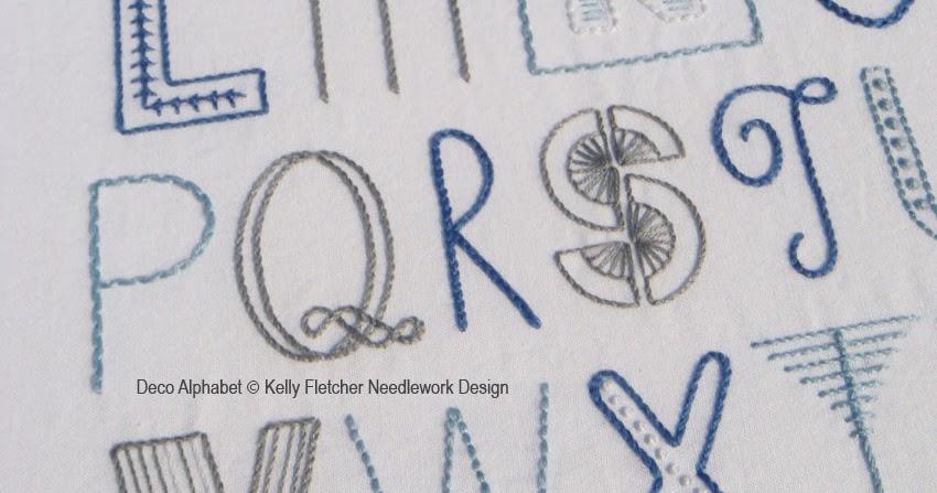 materialistic  new pattern  deco alphabet
