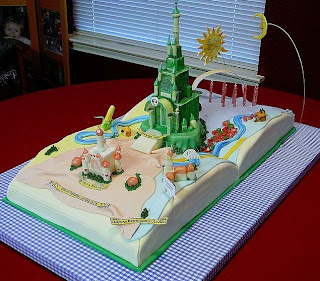 Wizard of Oz Book Cake by Cake Doctor
