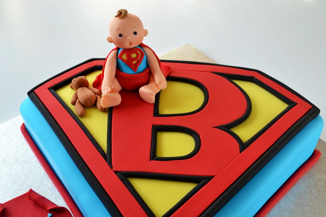 shower baby 39 s first birthday cake deborah hwang cakes superman