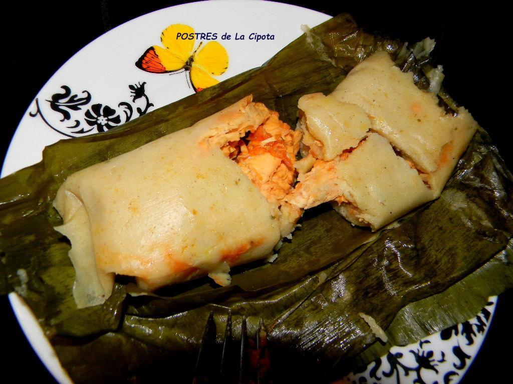 Tamales Salvadorenos comida tipica de el sa...