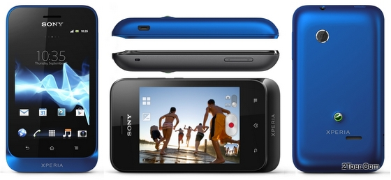 Sony Xperia tipo ST21 Overview