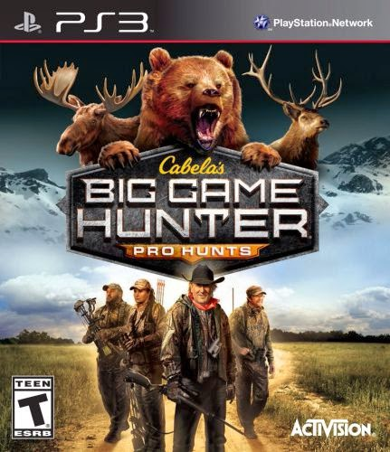 Cabelas Big Game Hunter Pro Hunts PS3-PS3