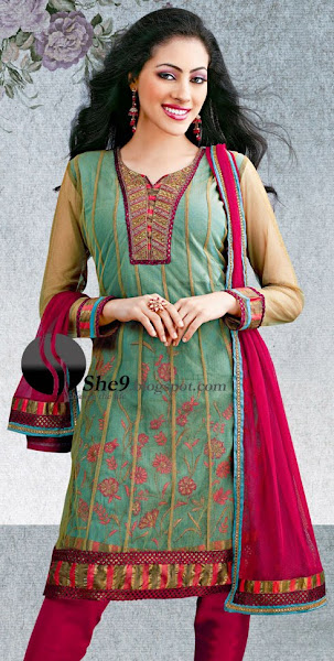Anarkali Umbrella Frock dress - Salwar Kameez - Kurti Styless
