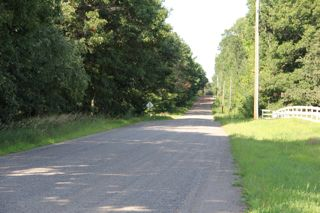 photo of a gravel road in the country