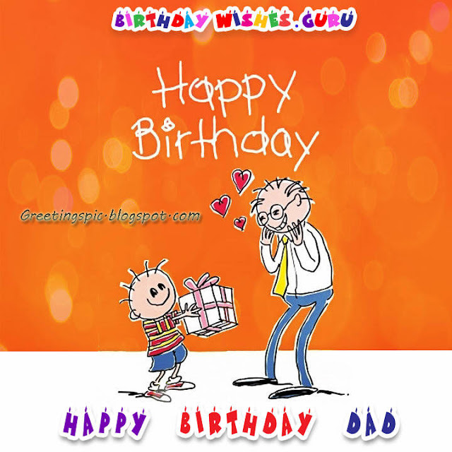Father birthday wishes images