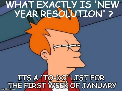 new year resolution, new year troll jokes 2015