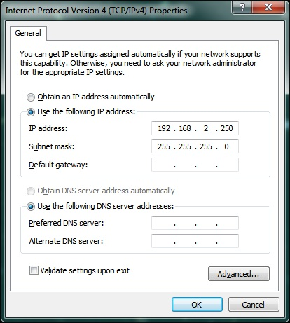 Windows Screenshot for IP address: Intelligent Computing