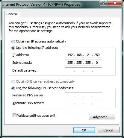 Windows Screenshot for IP address: Intelligent Computing