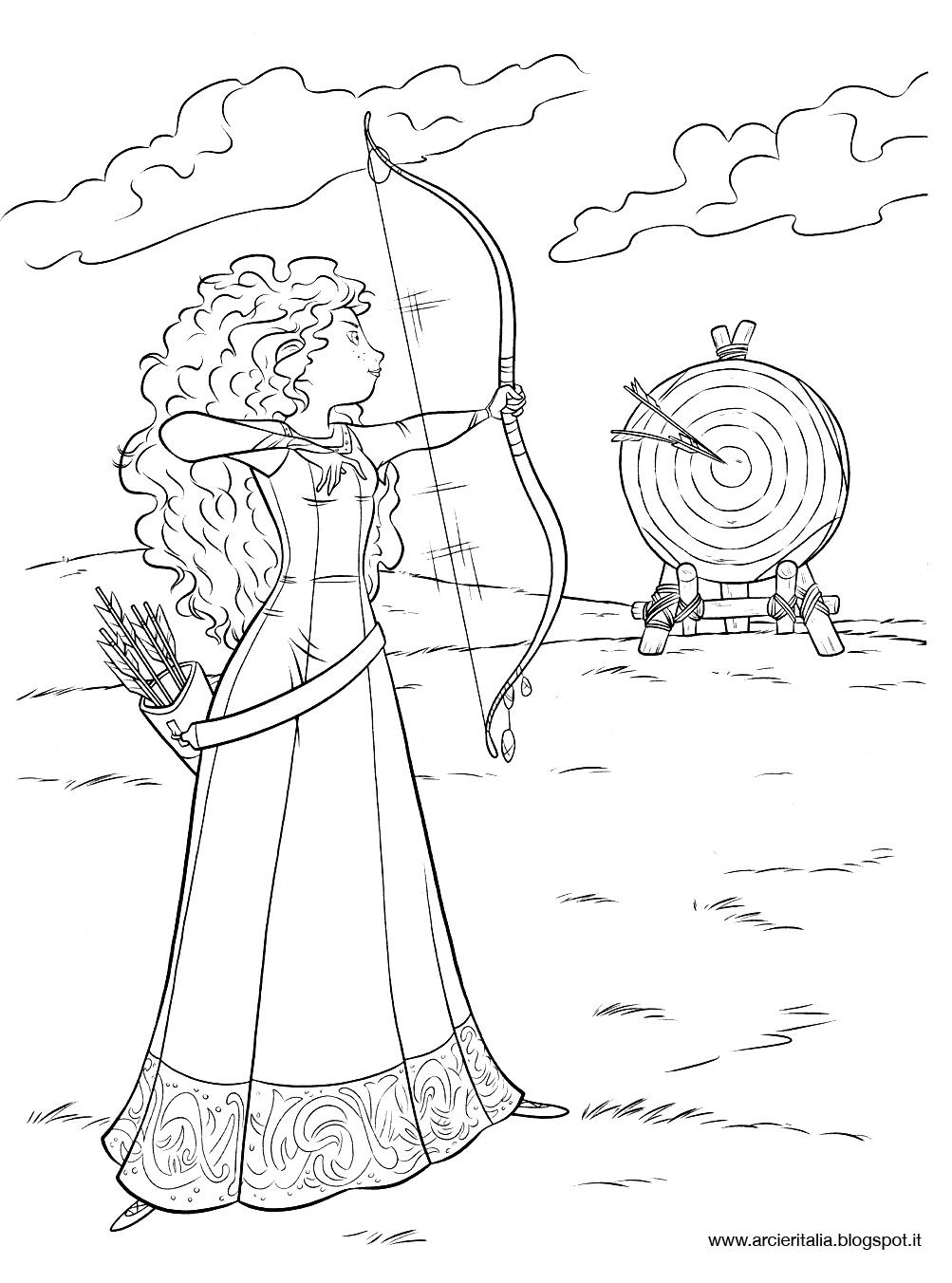 arcieritalia Coloriamo la Principessa