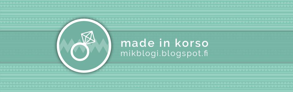 made in korso -blogi