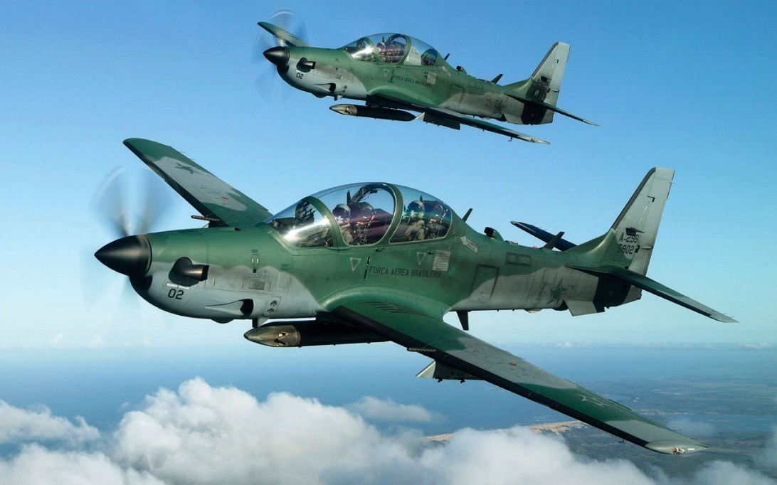 A-29 Super Tucano Aircraft Wallpaper 1